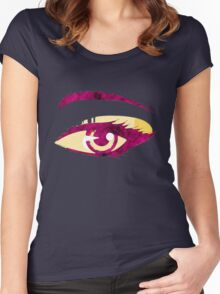 Abstract woman eye 3 Women's Fitted Scoop T-Shirt