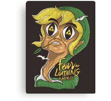 Fear & Loathing in Hyrule Canvas Print