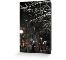 New Year´s Eve in the City Greeting Card