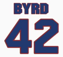 National football player Butch Byrd jersey 42 by imsport