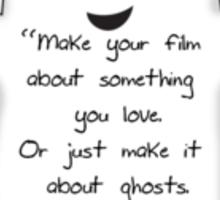 Everybody Loves Ghosts Sticker