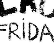 Black Friday  Sticker
