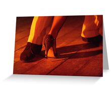 Tango Color Greeting Card