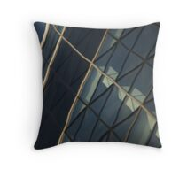 Gherkin reflected Throw Pillow