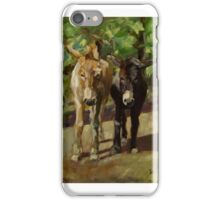 Standing on a Hill iPhone Case/Skin