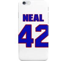 National football player Lorenzo Neal jersey 42 iPhone Case/Skin