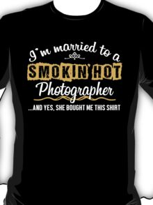 Funny Photographer t shirt T-Shirt