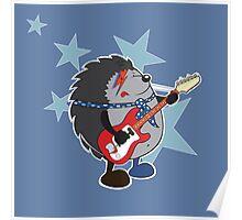 Ziggy plays guitar Poster