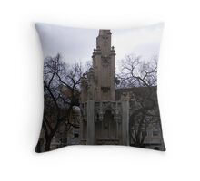 fallen structure Throw Pillow