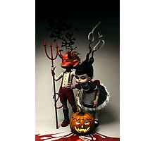 Twisted Kids: Children of the Pumpkin Photographic Print