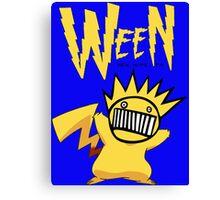 hey you boog-a-chu! Canvas Print