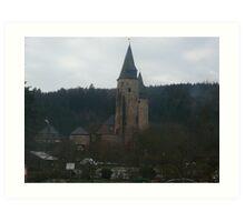 Burg Bruch Art Print