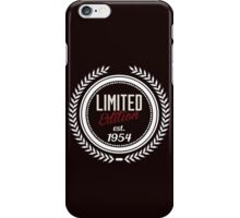 Limited Edition est.1954 iPhone Case/Skin