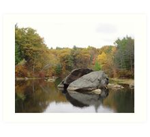 Rockhouse Pond Art Print
