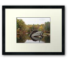 Rockhouse Pond Framed Print