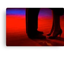 Tango Color Canvas Print