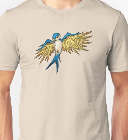 Swallow Tattoo Unisex T-Shirt