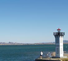 Fishing by the Lighthouse Lake Havasu by tvlgoddess