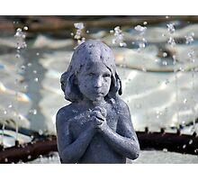 Fountain Tears Photographic Print
