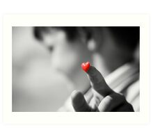 My heart is yours.. if you'll have it... Art Print