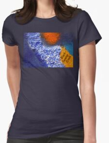 Black Swamp Creek Maryland abstract collage T-Shirt