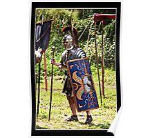 Officer in the Roman Legion Poster