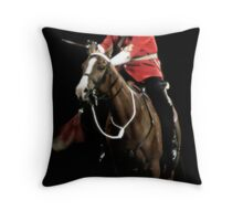 The Captain's Charge Throw Pillow