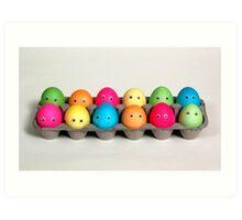 Easter Family of 12 Art Print