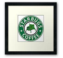 Starbugs (Starbucks) Coffee Framed Print