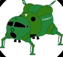 Starbugs (Starbucks) Coffee Sticker