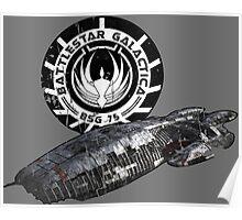 Battlestar Galactica - Ship Poster