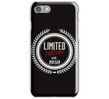 Limited Edition est.1959 iPhone Case/Skin