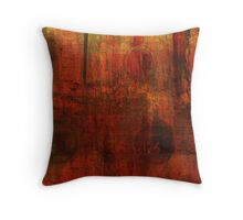 Red Red Red Throw Pillow