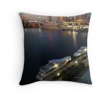 Tampa Yachts Throw Pillow