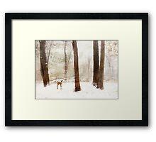Winter Whimsy Framed Print