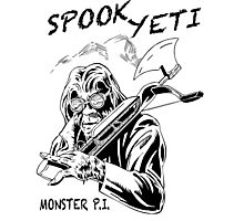 Spook Yeti, Monster P.I. Photographic Print