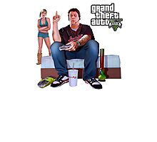 GTA V - Real Life Illustration Photographic Print