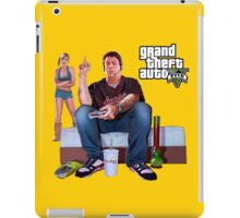 GTA V - Real Life Illustration iPad Case/Skin