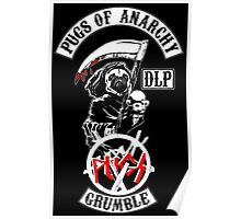 pugs of anarchy Poster