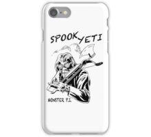 Spook Yeti, Monster P.I. iPhone Case/Skin
