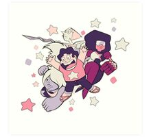 Steven Universe - Gem Warriors! Art Print