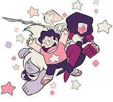 Steven Universe - Gem Warriors! by marcosmp