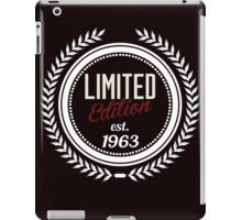 Limited Edition est.1963 iPad Case/Skin