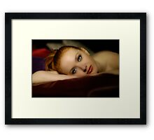 The Beauty of Jessamyn Series Portrait 2 Framed Print