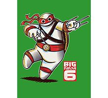 BIG NINJA 6 Photographic Print