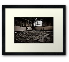 Third Floor Renovation On The Cheap Framed Print
