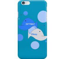 DFTBA? Okay. Hanklerfish Design iPhone Case/Skin