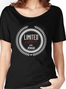 Limited Edition est.1966 Women's Relaxed Fit T-Shirt