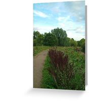 Path in Constable Country Greeting Card