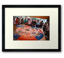 Wheel of Fortune Framed Print